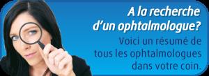 Ophtalmologues Belgique